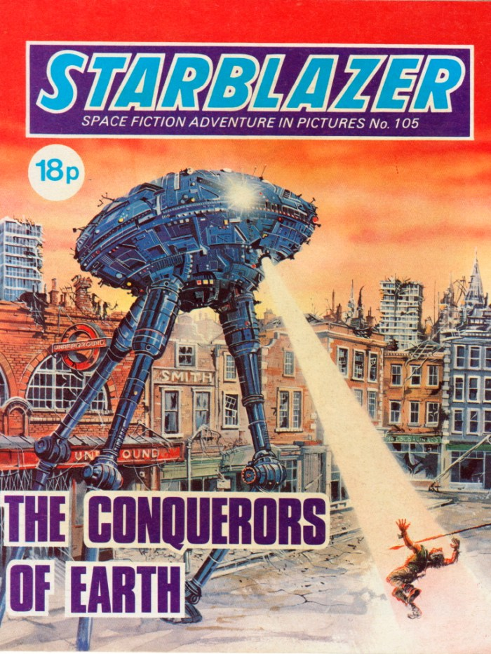 Starblazer 105: The Conquerors of Earth