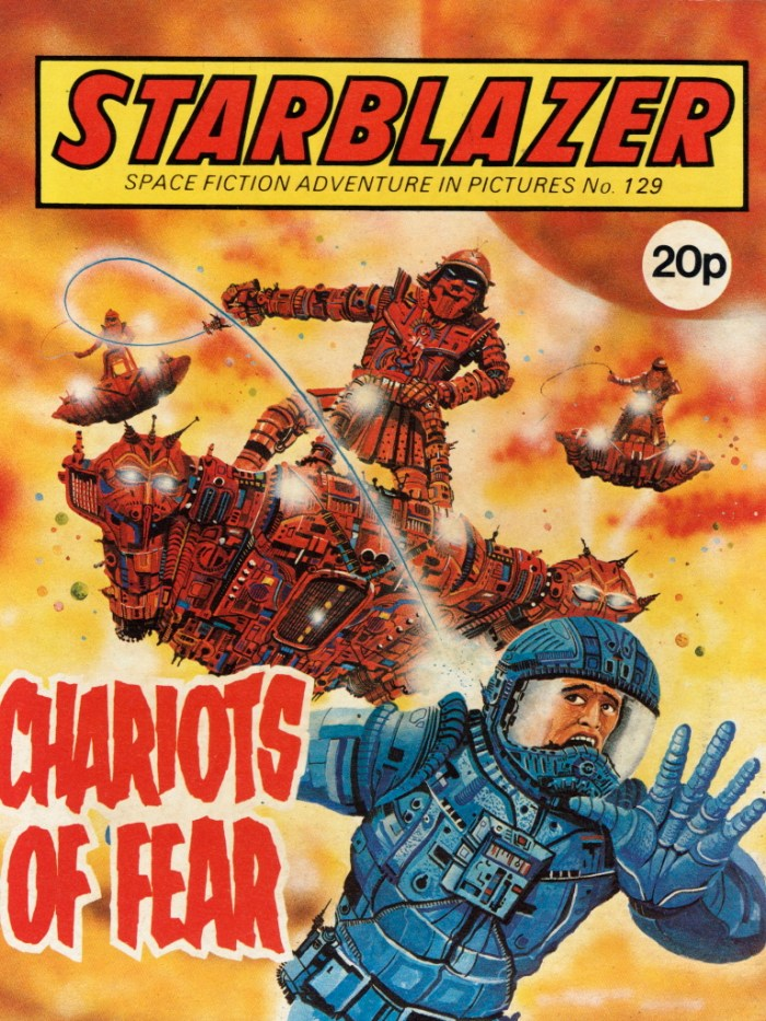 Starblazer 129: Chariots of Fear