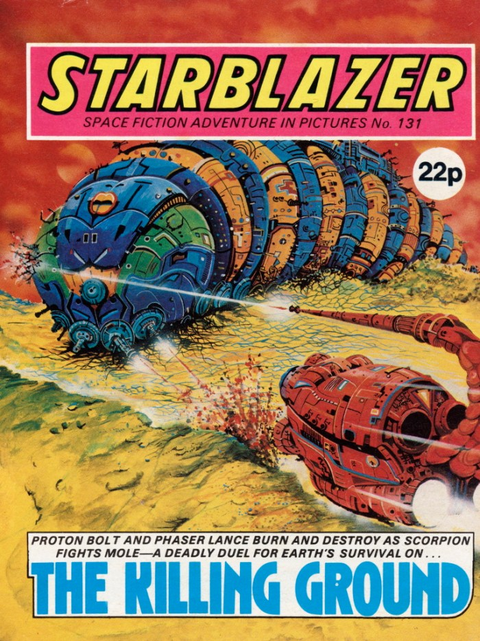 Starblazer 131: The Killing Ground