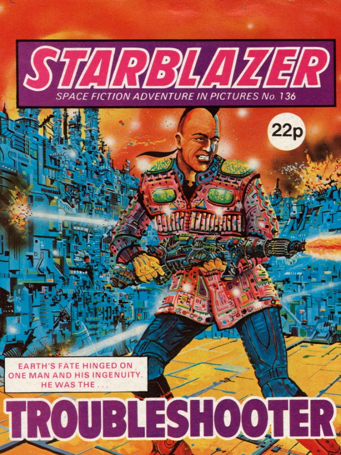 Starblazer 136: Troubleshooter