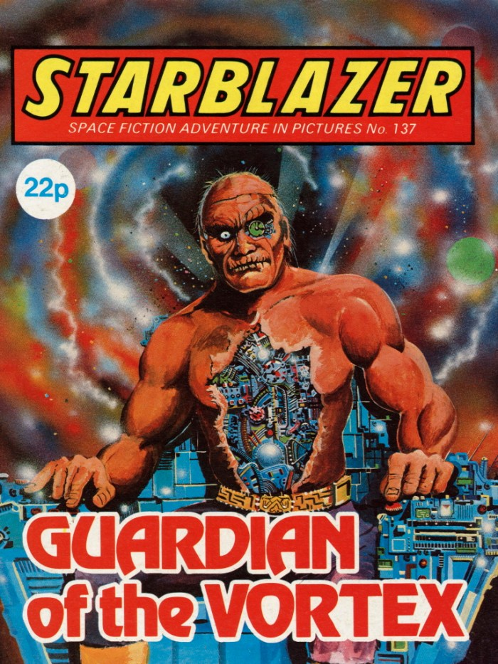 Starblazer 137: Guardian of the Vortex