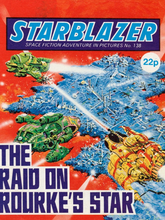 Starblazer 138: The Raid on Rourke's Star