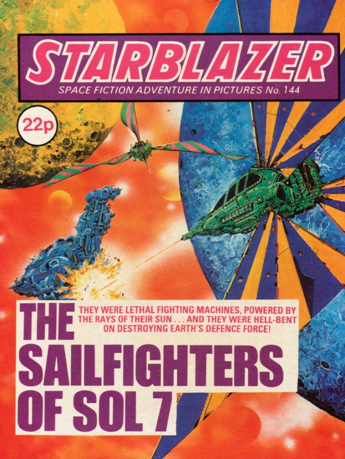 Starblazer 144: The Sailfighters of Soil 7