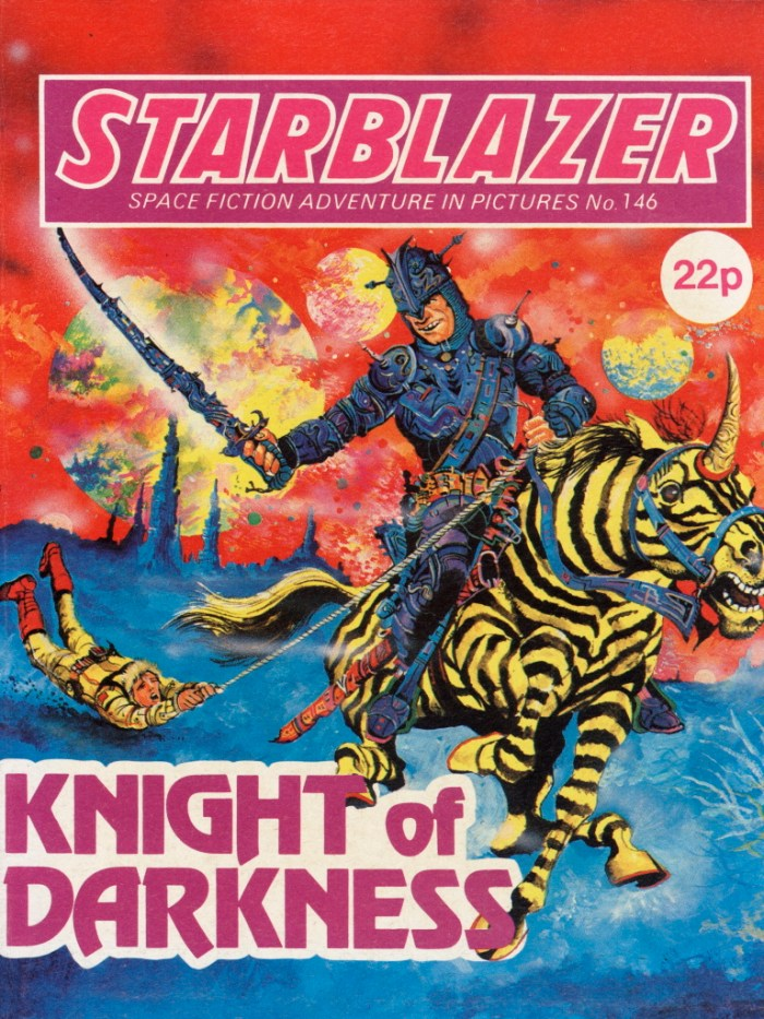 Starblazer 146: Knight of Darkness