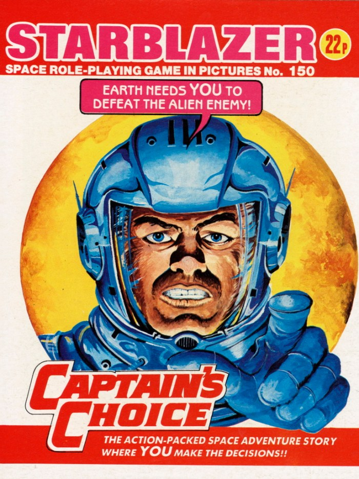 Starblazer 150: Captain's Choice