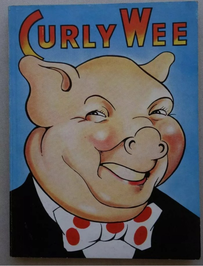 Curly Wee Annual 1950