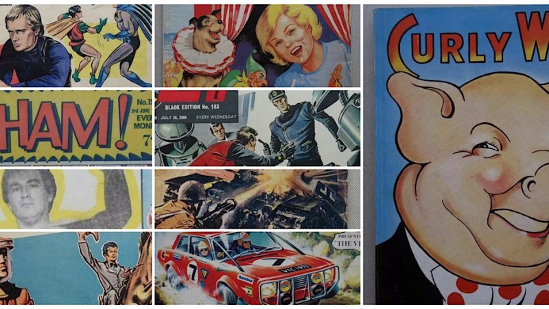 """Phil Comics offers TV21, Tornado and """"Curly Wee"""" rarities in latest eBay auction"""