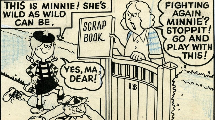 The original Minnie the Minx. © Beano Studios/ DC Thomson