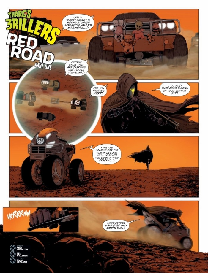 2000AD 2146 - Tharg's 3rillers Present - Red Road (Part 1)
