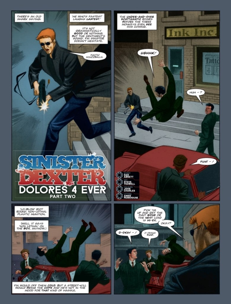 2000AD 2146; Sinister Dexter - Dolores 4 Ever (Part 2)