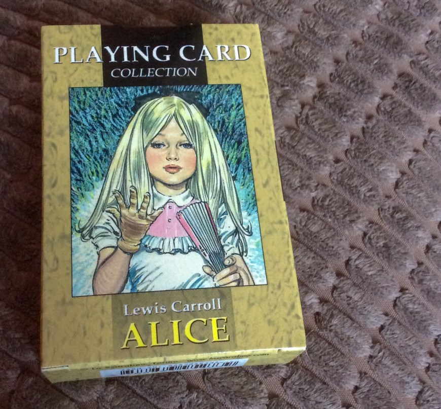 Alice Playing Cards - art by Jesus Blasco