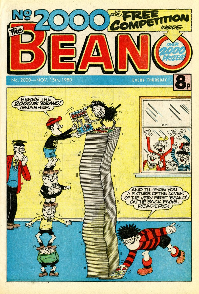 Beano No. 2000, cover dated 15th November 1980