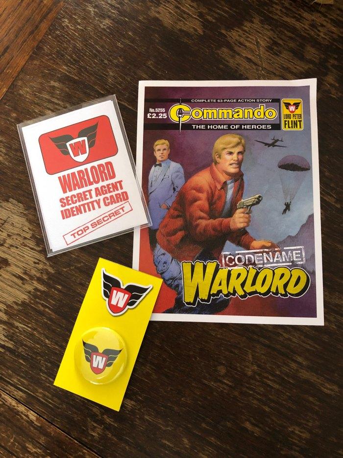 Commando presents Codename: Warlord - Promotion