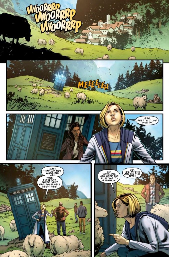 Doctor Who The Thirteenth Doctor Volume 2 - Sample