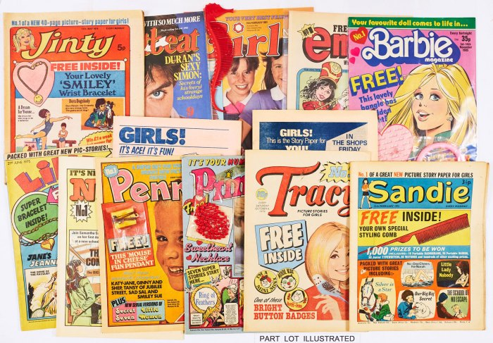 British Girls Comics - First Issues