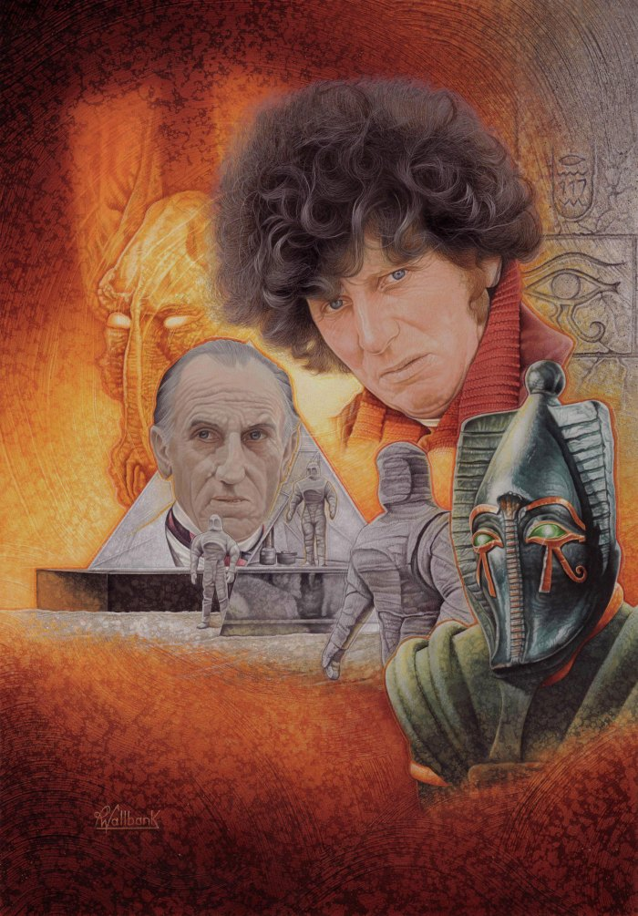 Doctor Who - Pyramids of Mars by Pete Wallbank, for Infinity magazine Issue 21