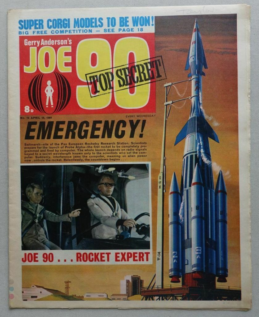 Joe 90 Issue 14