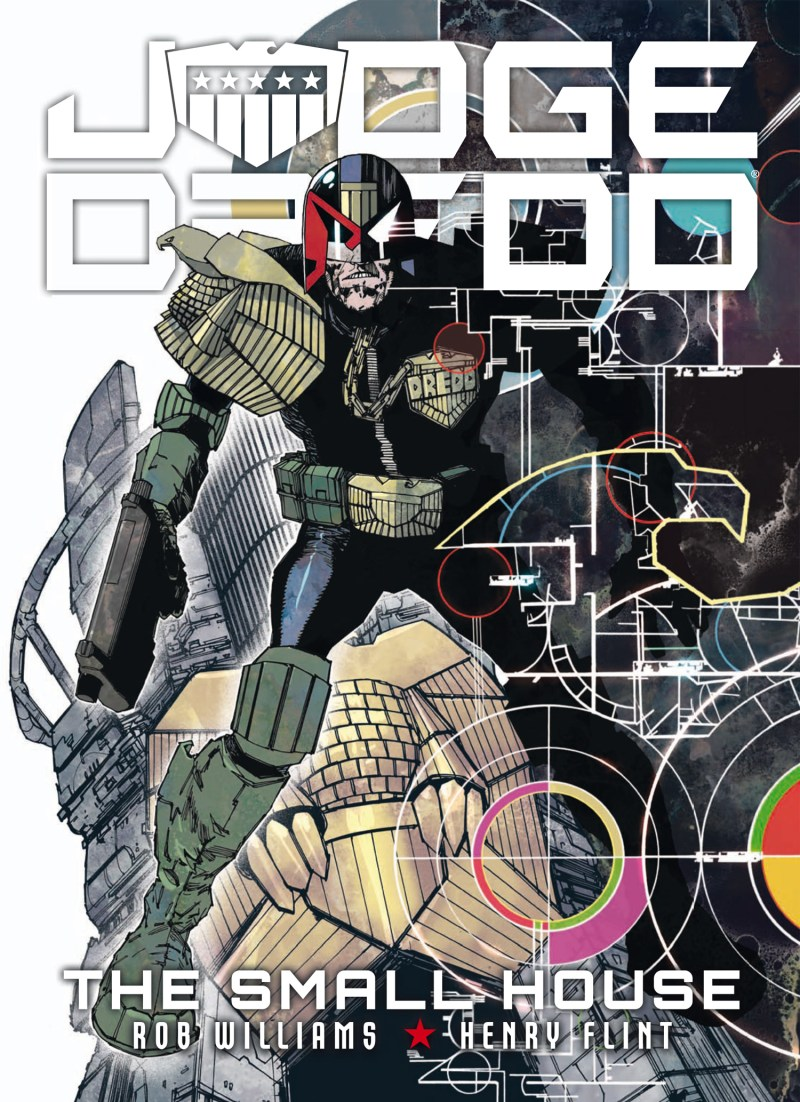 Judge Dredd: The Small House - Final Cover