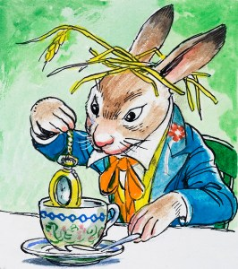 The March Hare from Alice in Wonderland by Philip Mendoza