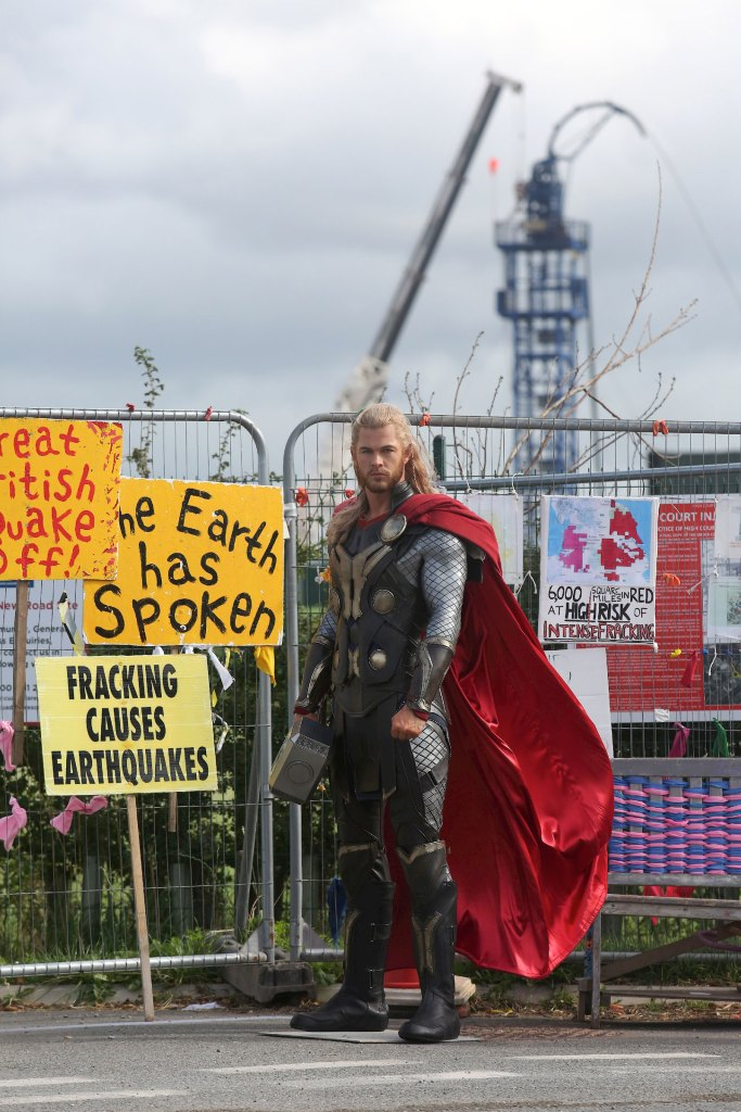 Thor on Preston New Road - 2019