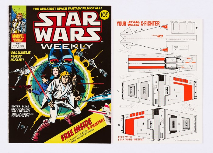 Star Wars Weekly Issue 1 (1978) - with gift