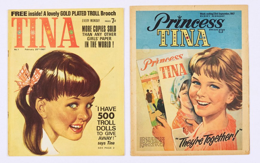 Tina 1 (1967) Starring Jane Bond and The Space Girls. With Princess Tina 1 (1967)