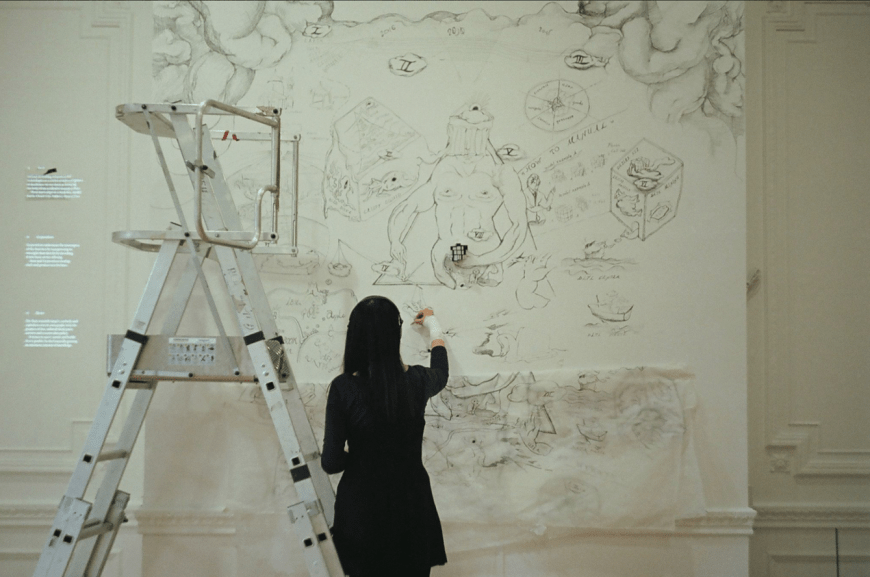 YiMiao Shih at work. Image: Cargo Collective