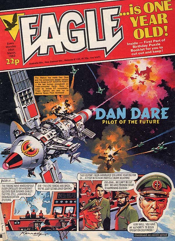 Eagle - 26th March 1983