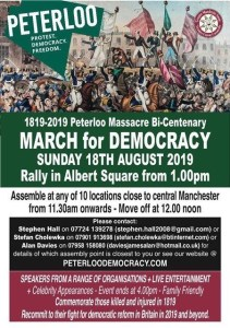 March for Democracy 2019 Poster