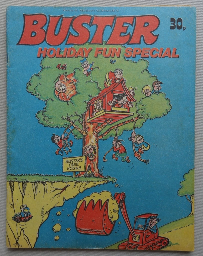 Buster Holiday Fun Special 1978