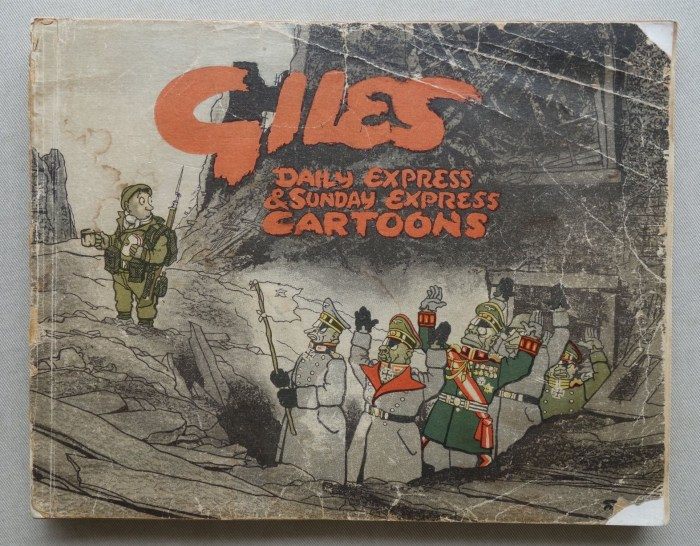 On offer - a copy of the first Giles annual, published in 1946
