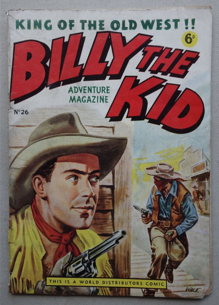 Billy the Kid comic #26 (1950s)
