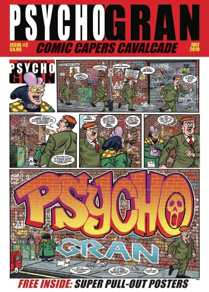 Psycho Gran Comic Capers Cavalcade #2 - Cover