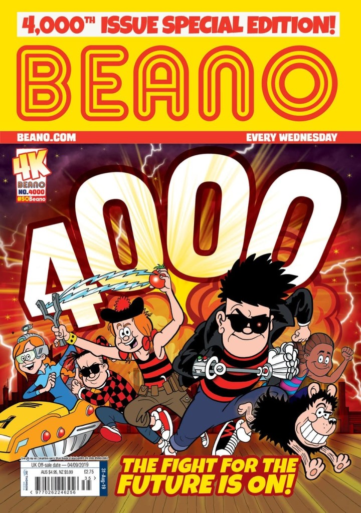 Beano 4000 Cover