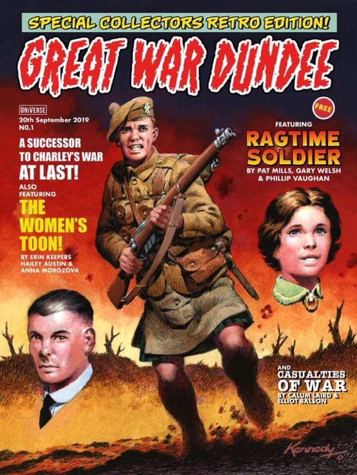 Great War Dundee Comic