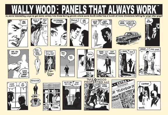 "Wally Wood: ""Panels That Always Work"" - Poster"