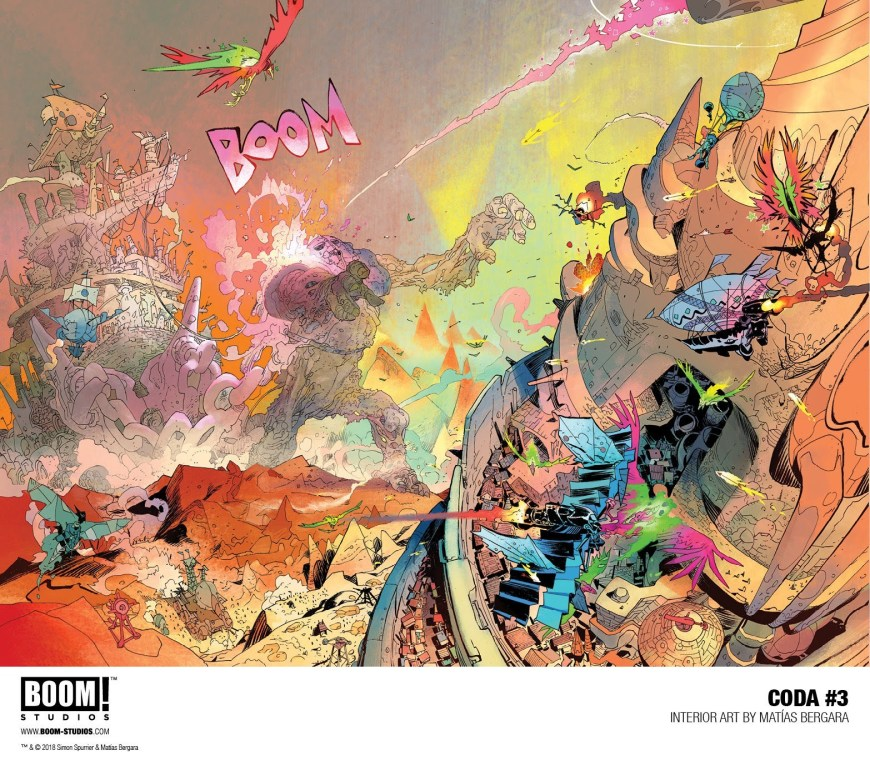 Coda #3 Sample Art