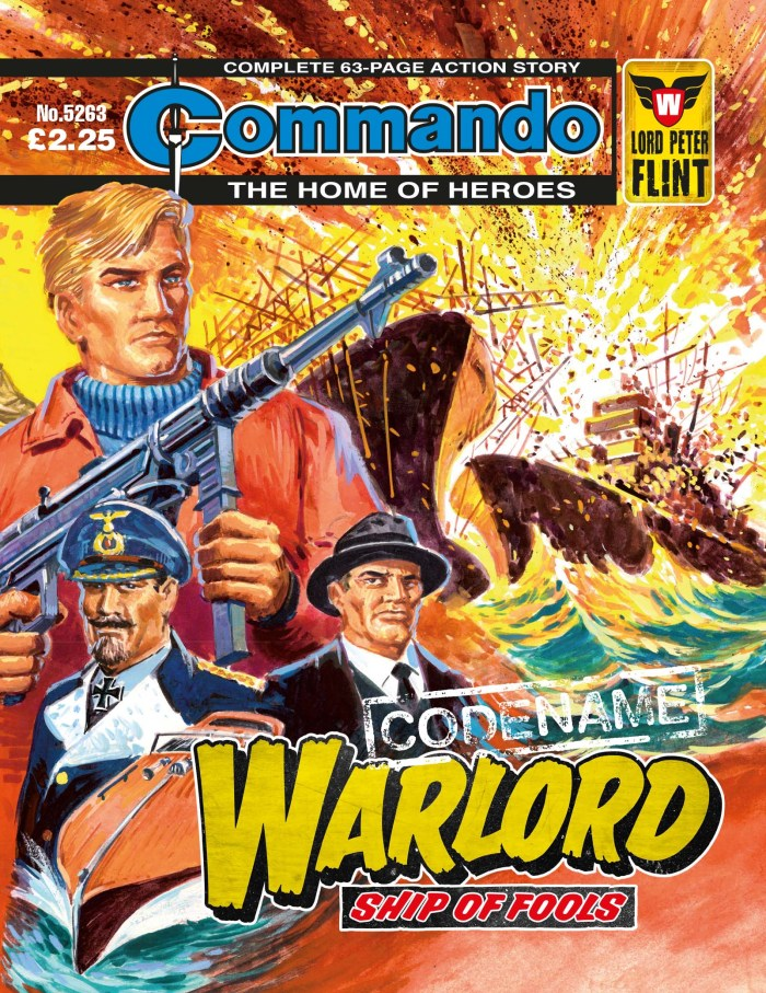 Commando 5263: Home of Heroes - Codename Warlord: Ship of Fools