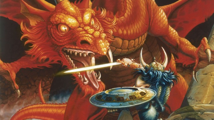 Dungeons and Dragons - 1980s Art