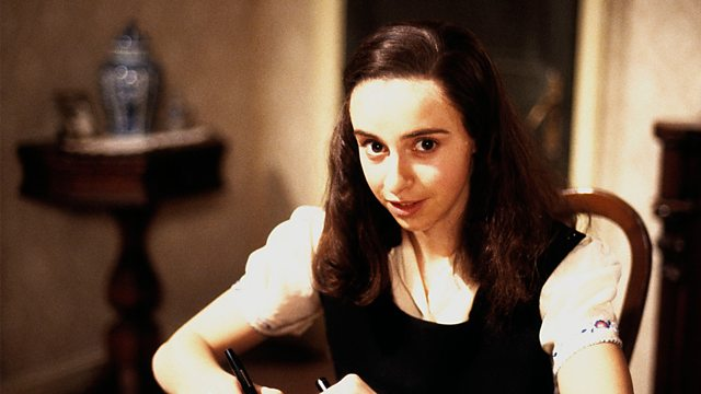 Katharine Schlesinger as Anne Frank in the BBC's The Diary of Anne Frank, which Terrance Dicks produced in 1987 Image: BBC