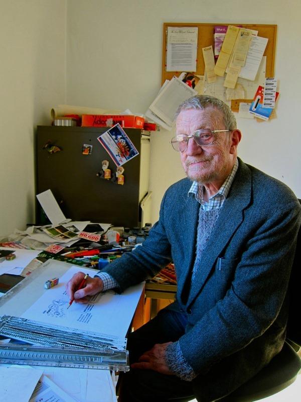 Atheist, Anarchist and Artist Donald Rooum