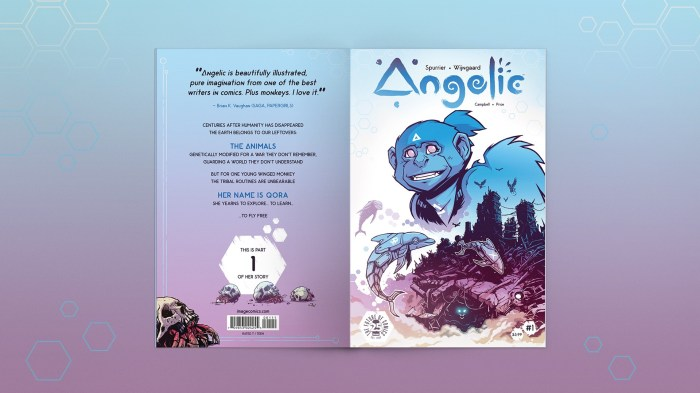 Image Comics - Angelic - Cover design by Emma Price