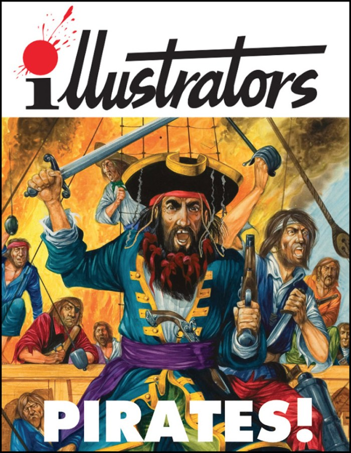 Pirates! - illustrators Special Edition. Note: Cover may change