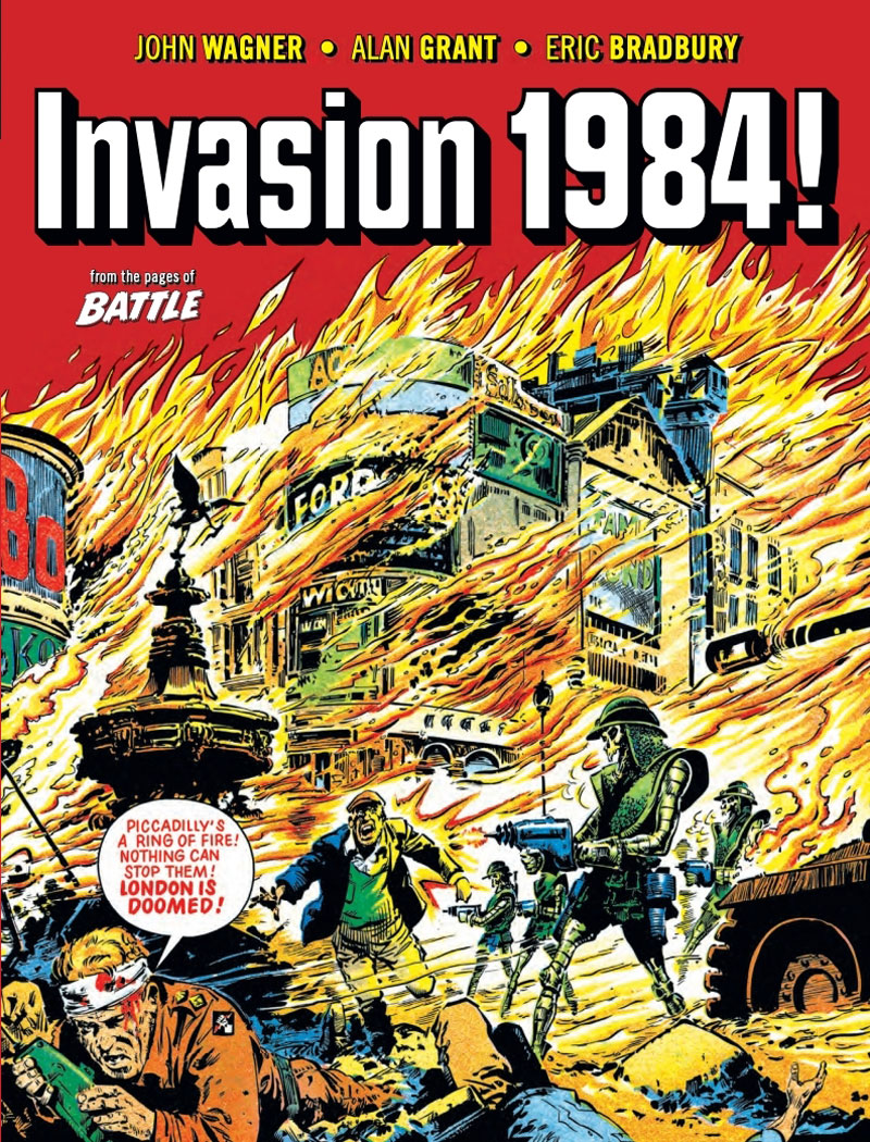 Invasion 1984 - Cover