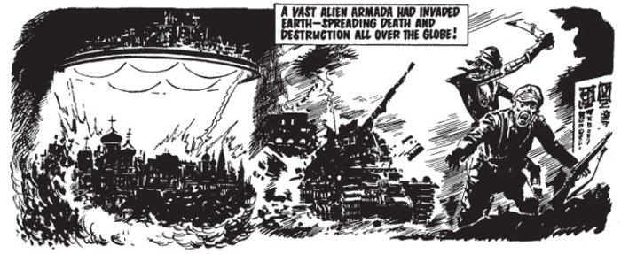 Invasion 1984 Sample Art