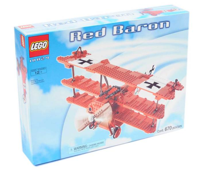 Lego 10024 - Red Baron - 1st World War Tri-plane
