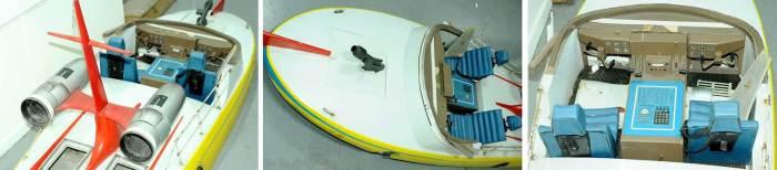Gerry Anderson's The Investigator pilot speedboat prop. Image: Vectis