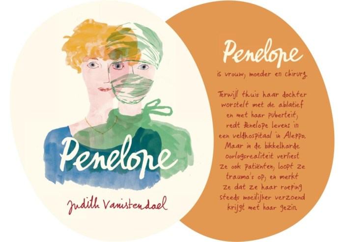 Promotional art for Penelope by Judith Vanistendael