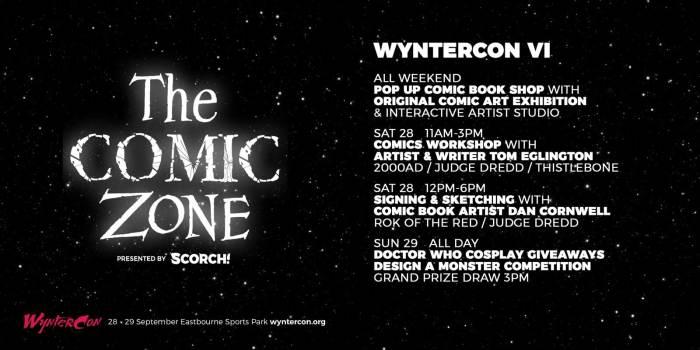 WynterCon VI Comic Zone