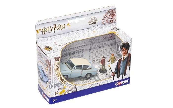 Harry Potter Corgi Flying Ford Anglia